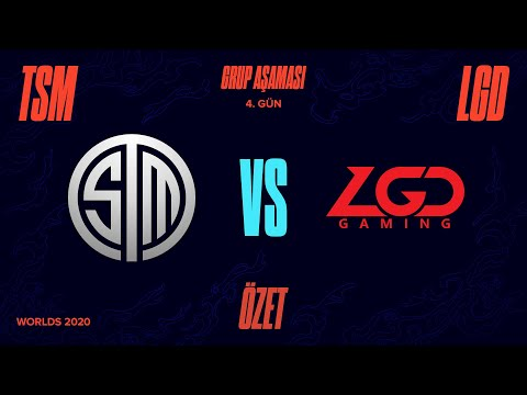 TSM vs LGD Gaming ( LGD ) Maç Özeti   Worlds 2020 Grup Aşaması 4. Gün