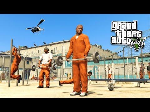 GTA 5 PC Mods - PRISON MOD!!! GTA 5 Prison Break & Prison Riots Mod Gameplay! (GTA 5 Mods Gameplay)