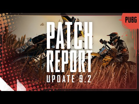 Patch Report #9.2 - Dirt Bike, Driver Shooter, Team Finder & Lobby Chat | PUBG