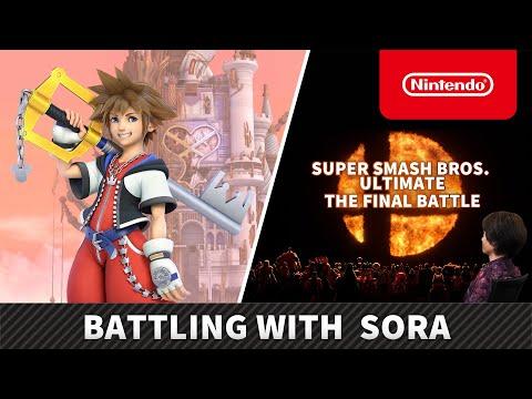 Super Smash Bros. Ultimate – Battling with Sora (Nintendo Switch)