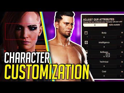 Cyberpunk 2077 Character Creation Full Analysis & Breakdown (Cyberpunk Character Creator)