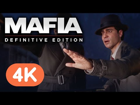 Mafia: Definitive Edition - 4K Gameplay Reveal (Mafia 1 Remake)