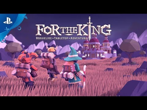 For The King - Launch Trailer | PS4