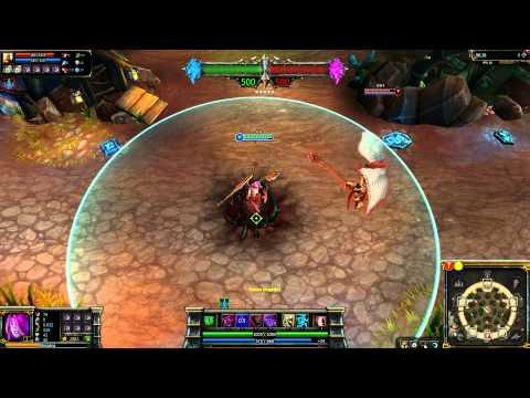 (OLD) Blackthorn Morgana League of Legends Skin Spotlight