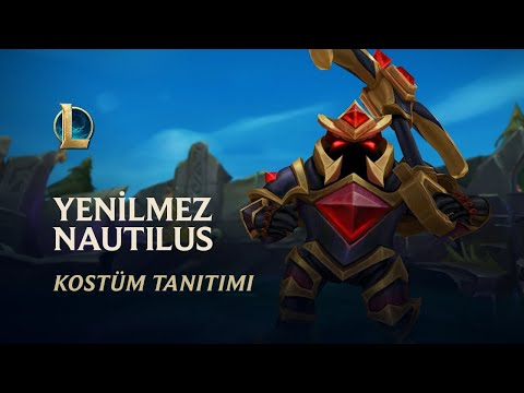Yenilmez Nautilus | Kostüm Tanıtımı - League of Legends