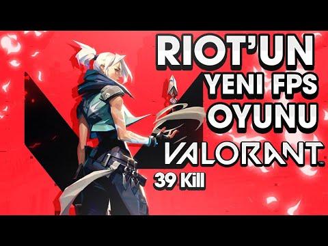 Riot Games'in Yeni FPS Oyunu Valorant   39 Kill ?!?