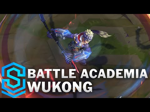 Battle Academia Wukong Skin Spotlight - Pre-Release - League of Legends