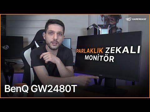 ÖĞRENCİLER İÇİN PARLAKLIK ZEKALI MONİTÖR! BenQ GW2480T İnceleme