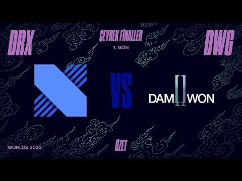 DRX vs DAMWON Gaming ( DWG ) 3. Maç Özeti   Worlds 2020 Çeyrek Final