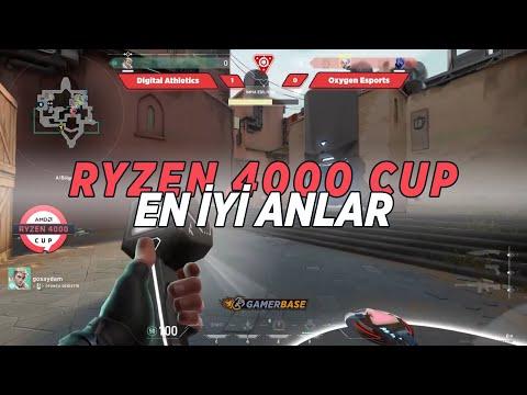 VALORANT En İyi Anlar! | RYZEN 4000 CUP
