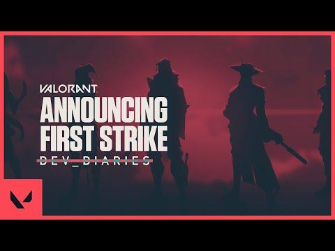 The VALORANT First Strike Tournament // Dev Diaries - VALORANT