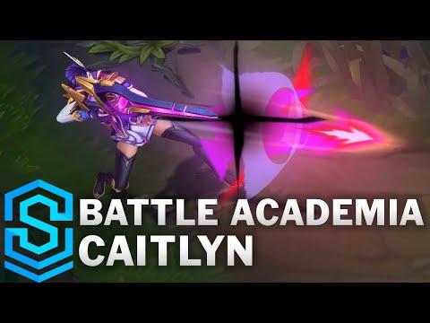 Battle Academia Caitlyn Skin Spotlight - Pre-Release - League of Legends