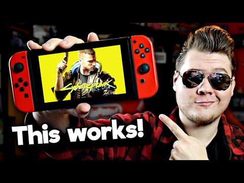 Playing Cyberpunk 2077 on my Nintendo Switch (yes, really.) | Nintendrew