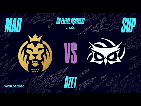 Mad Lions ( MAD ) vs Papara SuperMassive ( SUP ) 4. Maç Özeti | Worlds 2020 Ön Eleme 2. Tur
