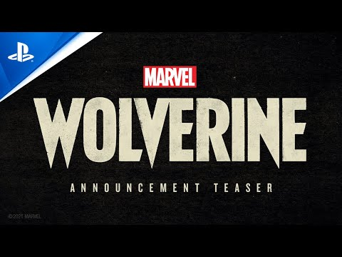 Marvel's Wolverine - PlayStation Showcase 2021: Announcement Teaser Trailer   PS5