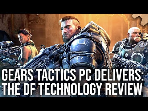 Gears Tactics PC - The Digital Foundry Tech Review: VRS, Performance, Engine Analysis + More