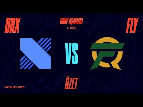 DRX vs FlyQuest ( FLY ) Maç Özeti   Worlds 2020 Grup Aşaması 4. Gün