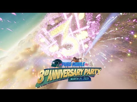 PUBG MOBILE | You're Invited: PUBG MOBILE's 3rd Anniversary Party
