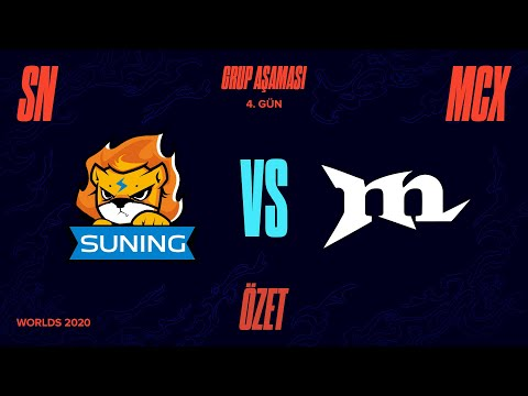 Suning ( SN ) vs Machi Esports ( MCX ) Maç Özeti   Worlds 2020 Grup Aşaması 4. Gün