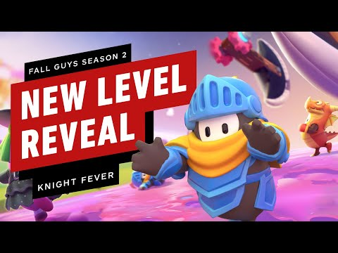 Fall Guys Season 2: Exclusive Knight Fever Level Reveal