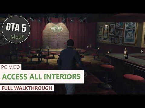 GTA 5 PC - Open all interiors Mod [Full Showcase/Walkthrough]