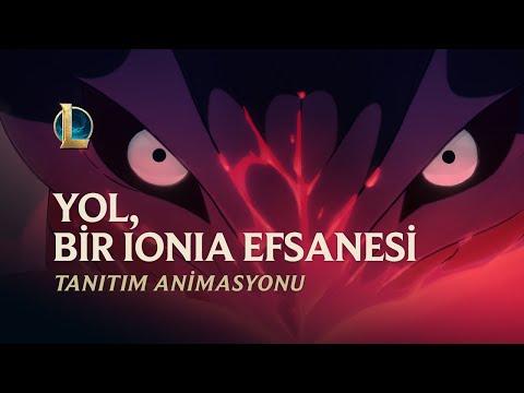 Yol, Bir Ionia Efsanesi | Ruh Çiçeği 2020 Tanıtım Animasyonu - League of Legends