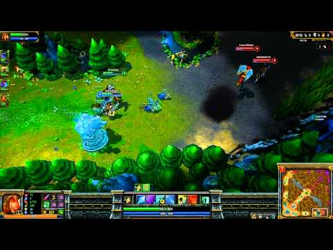 League of Legends Ashe Gameplay