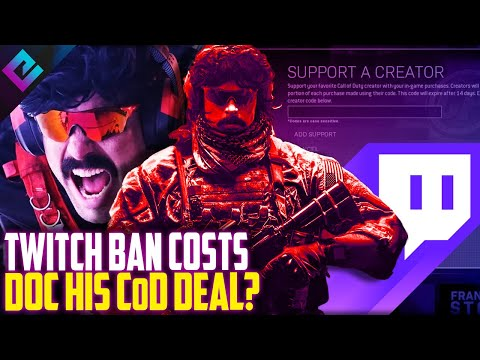 Dr Disrespect Twitch Ban Cost Him a CoD Deal