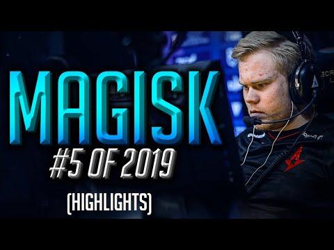 Magisk - HLTV.org's #5 Of 2019 (CS:GO)