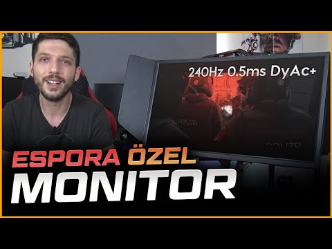 ESPORA ÖZEL Monitör! BenQ Zowie XL2546K İncelemesi