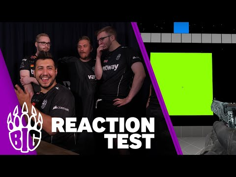CS:GO Reaction Test with BIG