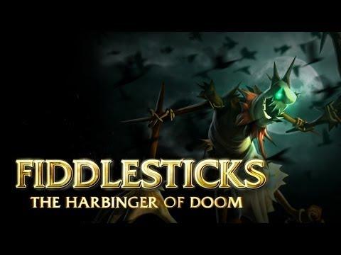 Fiddlesticks: Champion Spotlight | Gameplay - League of Legends