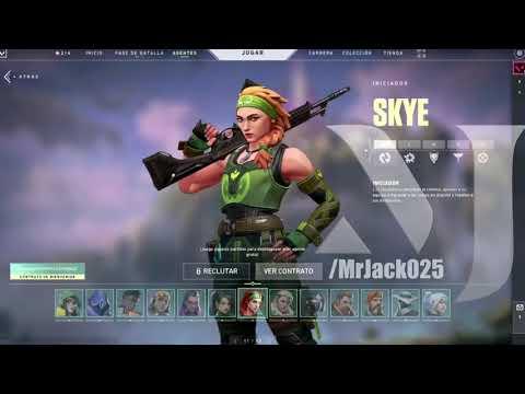 Valorant Skye Abilities Showcase (New Agent)