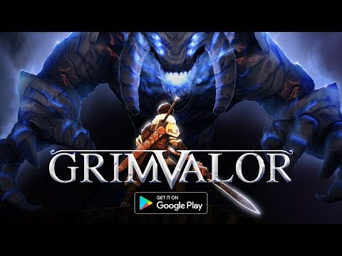 Grimvalor - Launch Trailer (Android)
