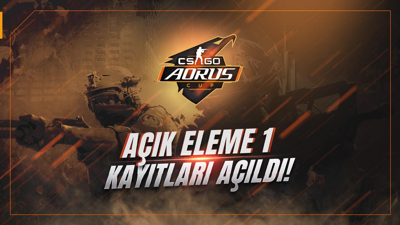 AORUS CS:GO CUP Açık Eleme 1 Kayıtları Açıldı