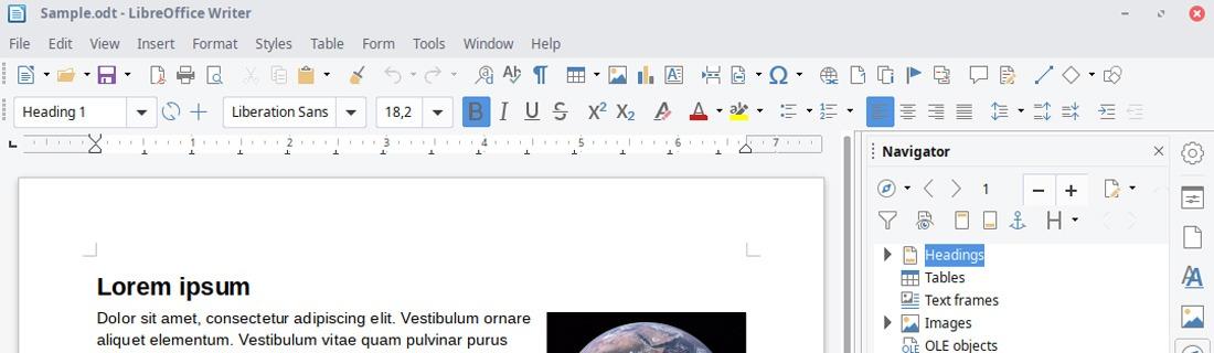 Ücretsiz ofis yazılımı LibreOffice
