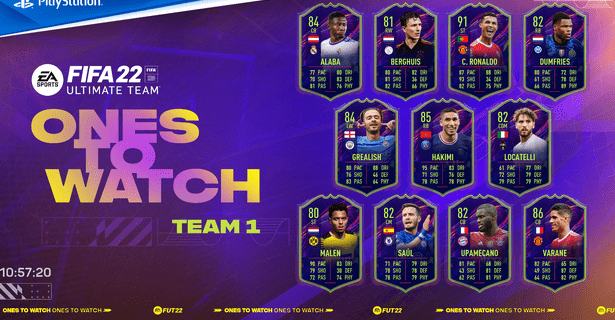 FIFA 2022 Ones To Watch