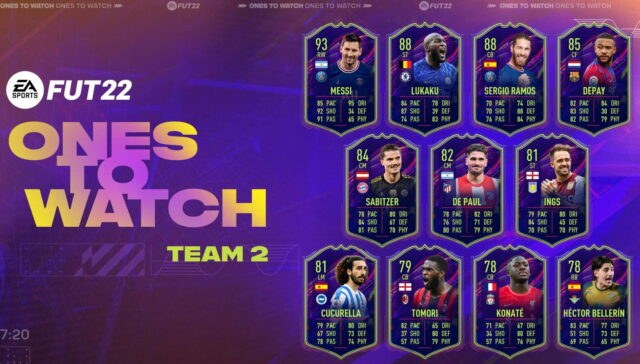 FIFA 2022 Ones To Watch Team 2